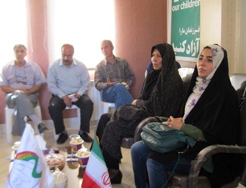 جلسه صميمی با خانواده ها استان مرکزی اراک