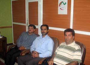 لقاء جمعیه نجات محافظه خوزستان مع بعض الاسر فی ماه شهر وسربندر