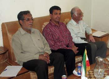 حضور خانواده های خوزستانی در دفتر انجمن نجات
