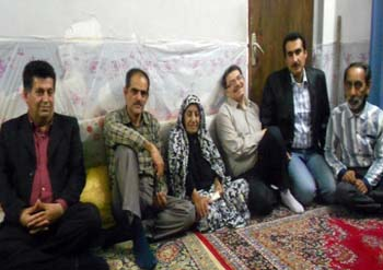Pictorial - Nejat Society members met family of a MKO Cult hostage
