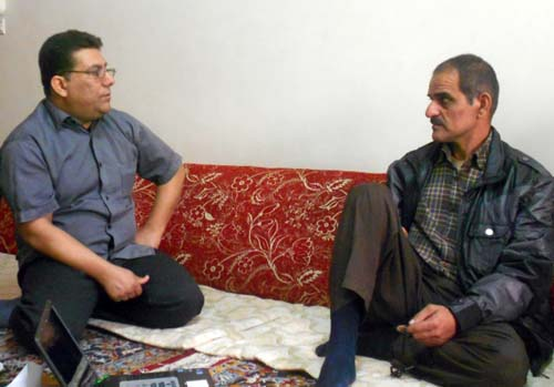 Behzad Sajedifar havent see his brother more than three decades