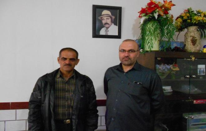 دیدار اعضای انجمن نجات خوزستان با خانواده نورمراد کله جویی از اسیران فرقه رجوی