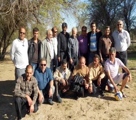 یک روزخوب و به یاد ماندنی با دوستان جداشده از فرقه رجوی در اهواز
