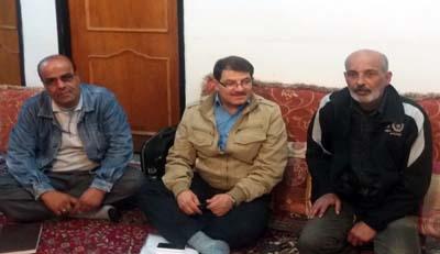 نوید رهایی: دیدار انجمن نجات خوزستان با خانواده هادی و مریم لاری، گروگان فرقه رجوی
