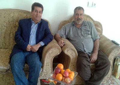 عیادت اعضای انجمن نجات خوزستان از آقای علیرضا نوروزی