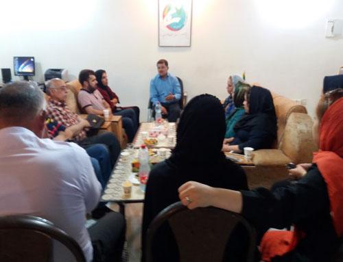 حضور خانواده های خوزستانی در كمپ لیبرتی(10 مرداد 95)