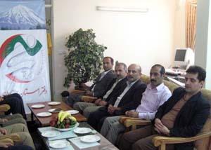 گرد همایی جمعی از جدا شده گان از فرقه رجوی از استان مازندران