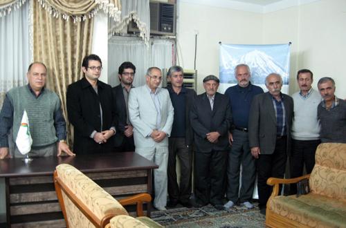Reza Rajabzade among Mazandarani families of MKO hostages