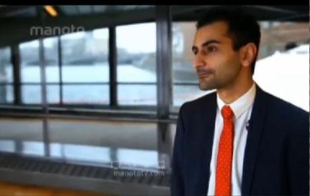حنیف بالی نماینده ایرانی تبار جوان در پارلمان سوئد