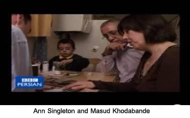 Ann Singleton and her husband Masud also are ex-Mujahedin activists who now campaign against the movement