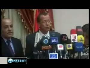 the representative of the UN's Secretary General Mr. Martin Coupler