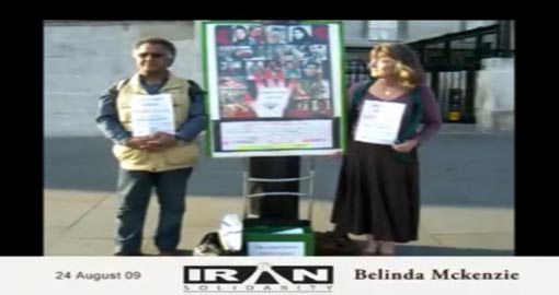 "Belinda and Iranian ""husband"" leave child to his fate in prison camp of MKO"