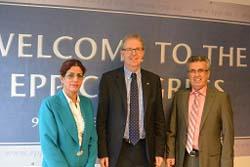Delegation of MKO defectors visit EU MEP