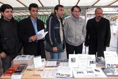 در حاشیه این گردهمایی دو آکسیون اجتماعی و روشنگرانه در سطح شهرهای سرژی و پونتواز انجام گردید که طی آن تعداد زیادی کتاب و بروشور و نشریه فرانسوی زبان کانون آوا à jour در میان شهروندان این مناطق توزیع گردید.