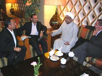 دبیر کانون هابیلیان  در ملاقات با تعدادی از مسئولین غیر دولتی عراق