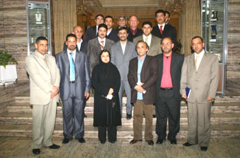 Iraqi media visit secretary general of Habilian Association