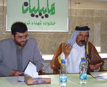 شيوخ عشائر جنوب العراق ضیوف هابیلیان