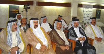جمعی از روسا و شیوخ عشایر جنوب عراق با اعضاء هیات مدیره کانون هابیلیان دیدار و گفتگو کردند.