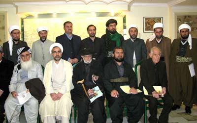 کبار علماء کردستان العراق يلتقون بأمين عام هابيليان