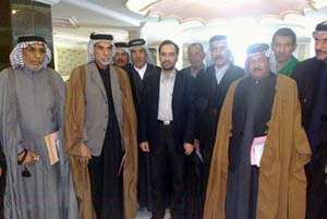 Iraqi tribal sheikhs urge the government not to hesitate to expel the cult