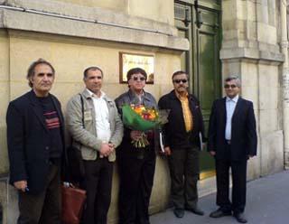 بمناسبت فرا رسیدن سالگرد استقلال عراق و سرنگونی حکومت دیکتاتوری این کشور، امروز دوشنبه 20 اپریل هیئتی از طرف انجمن ایران باستان-آینده درخشان یک بازدید دوستانه از سفارت عراق در پاریس نمود.