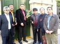 ملاقات انجمن ايران باستان با مقامات سفارت عراق