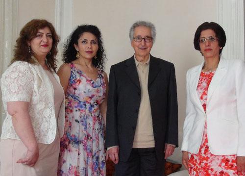 دیدار و گفتگوی اعضای انجمن زنان با آقای دکتر ابوالحسن بنی صدر