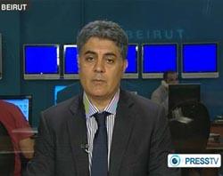 Kamel Wazne, political analyst from Beirut