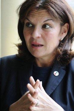 Senator Nathalie Goulet of Orne
